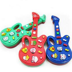 Baby Kids Electronic Guitar Educational Toy Rhyme Developmen