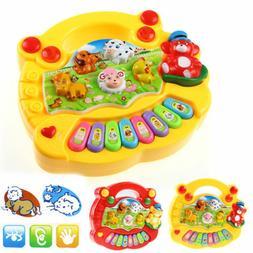 Baby Kids Musical Educational Animal Farm Piano Developmenta