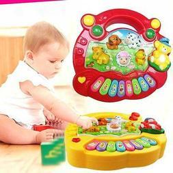 Baby Kids Musical Educational Piano Animal Farm Developmenta
