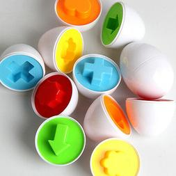 Baby Kids  Simulation Eggs Puzzle Toy Learning Development E
