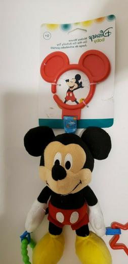 Disney Baby Mickey Mouse On The Go Pull Down Activity Toy, 1