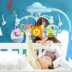 baby musical crib mobile bed bell toys