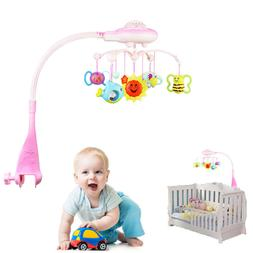 Baby Musical Mobile Projection Nursery Lights Bed Crib Cot H