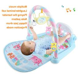 Baby Play Mats Gym For Infants 0-36 Months With Piano Activi