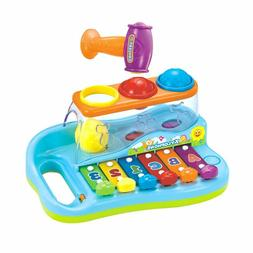 Baby Pound & Tap Bench Xylophone Musical Toy with Color Sort