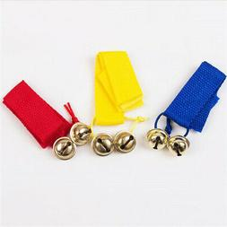 Baby Rattles Hand Wrist Foot Bell Toys Educational Dancing A