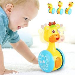 Baby Rattles Tumbler Doll Toys Bell Learning Education Toy G