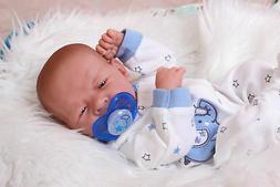 """Baby Real Boy Reborn Doll Preemie Toy Newborn 15"""" Newborn So"""