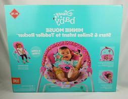 Disney Baby Rocker Minnie Mouse Stars Smiles Infant Toddler
