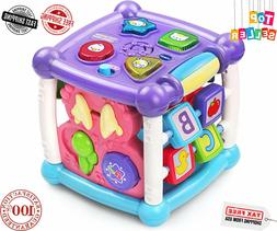 Baby's Smart Toys | Busy Learners Activity Cube, Purple