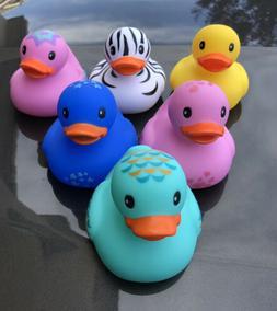 INFANTINO Baby Shower Bathtub Toys Rubber Ducks Lot X6 NEW M