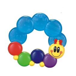 Advanced Play Baby soft water filled sensory rattle ring toy