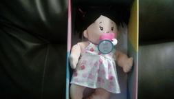 Manhattan Toy Baby Stella Brunette Soft First Baby Doll, 15-