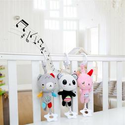 baby stroller plush toys crib bed hanging