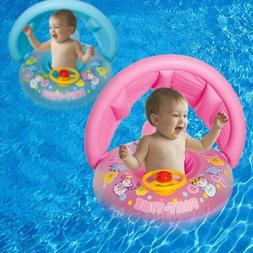 Baby Swim Seat Swimming Ring Pool Water 1-3 Years Old Front