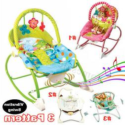 Baby Swing Infant Cradle Electric Rocker Bouncer Vibration C