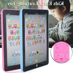 Baby Tablet Educational Toys Kids  Toddler Learning English