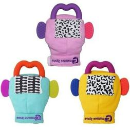 Gummee Glove Baby Teething Mitten Silicone Heart Teether Rin