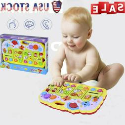Baby Toddler Toy Musical Learning Table Music Activity: Crib
