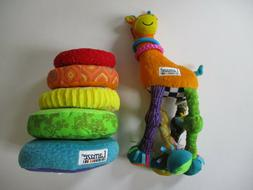 Lamaze Baby Toy Lot Stacker Giraffe