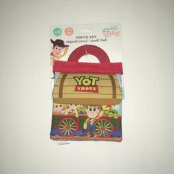 Disney Baby Toy Story Soft Book BPA Free Stimulate Mirror Te