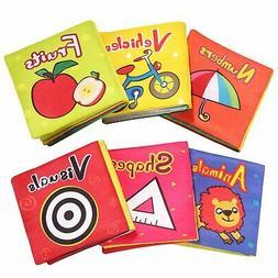 Toys Gift for Kids Children Toddler Soft Baby Book Set for I