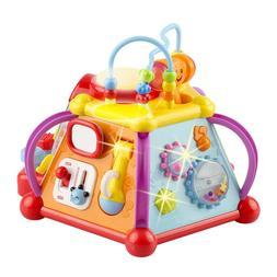 Baby Toys Activity Cube & Baby Activity Center Sensory Toys