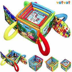 teytoy Baby Toys Cotton Animals Magical Blocks with Soft Rat