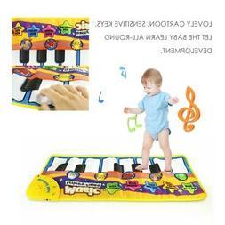 Baby Toys Music Keyboard Piano Play Mat IQ Development Educa