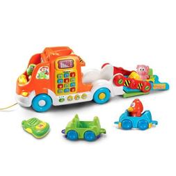 Baby Toys Pull and Learn Car Carrier Pull Toddler Interactiv