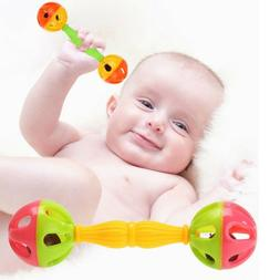 Baby Toys Rattles Bells Shaking Dumbells Early Development T