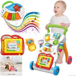 Baby Walker First Steps Activity Bouncer Musical Toy Trolley