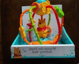 Disney Baby Winnie The Pooh Activity Ball Toddler Childrens