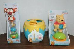 Disney Baby Winnie The Pooh High Chair, Tigger Rainmaker, Sh