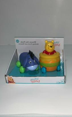Disney Baby Winnie The Pooh Rolling Pooh and Eeyore Toys 3+