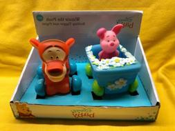 Disney Baby Winnie The Pooh Rolling Tiger & Piglet Toy 3M+ I