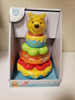 Disney Baby Winnie The Pooh Singing Music Stacking Rings Toy