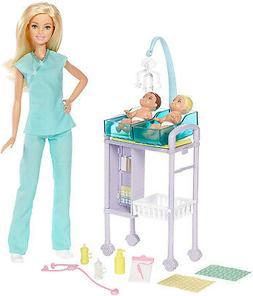 Barbie Careers Baby Doctor Playset Kid Toy Gift