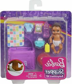 BARBIE SKIPPER BABYSITTERS INC BABY GIRL DOLL and ACCESSORIE