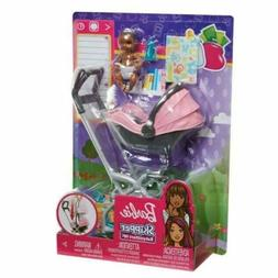 BARBIE SKIPPER BABYSITTERS INC BABY WITH CARRIER / STROLLER