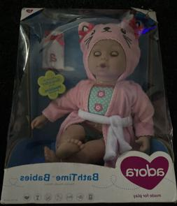 Adora Bath Time Kitty 13 In Girl Pink Kids Girls Play Doll