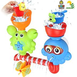 Bath Toys for Toddlers Babies Kids 1 2 3 Year Old Boys Girls