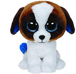 "TY Beanie Babies Boo's Duke Dog 6"" Stuffed Collectible BRAND"