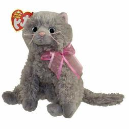 TY Beanie Baby - FLUFF the Cat  - MWMTs Stuffed Animal Toy