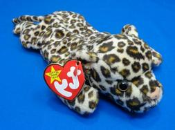 Ty Beanie Baby ~ FRECKLES the Leopard ~1996~ Plush Beanbag T