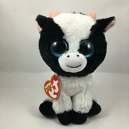 TY Beanie Boo Butter - Cow Reg Plush