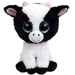"""Ty Beanie Boos Cow BUTTER 6"""" Reg Plush"""