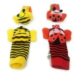bee and ladybug infant and toddler wrist