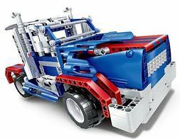 Bo Toys R/C 2 in 1 Sports car and Semi-trailer truck Buildin
