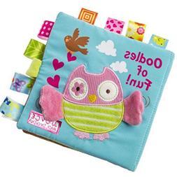 Baby Books,Rucan Animals Owl Soft Cloth Baby Intelligence De